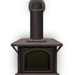 photo of a stove