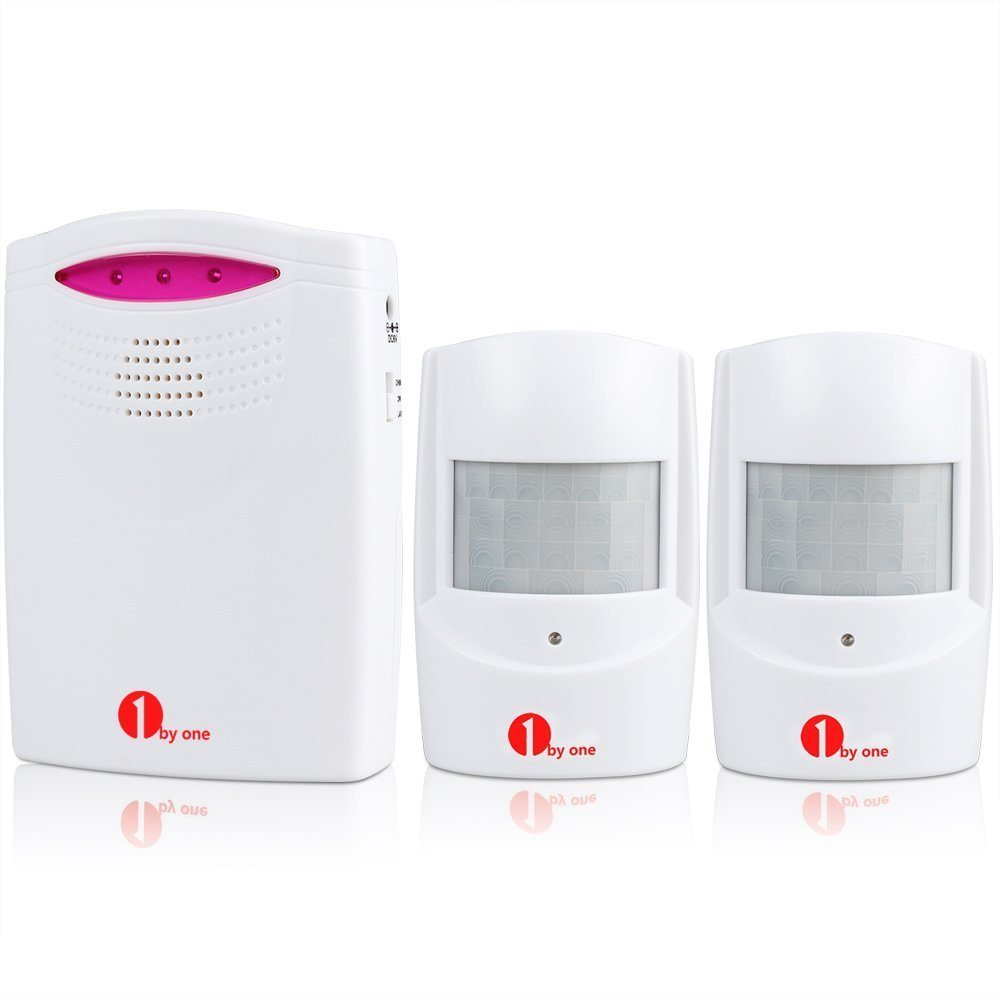1byone Wireless Home Security Driveway Alarm
