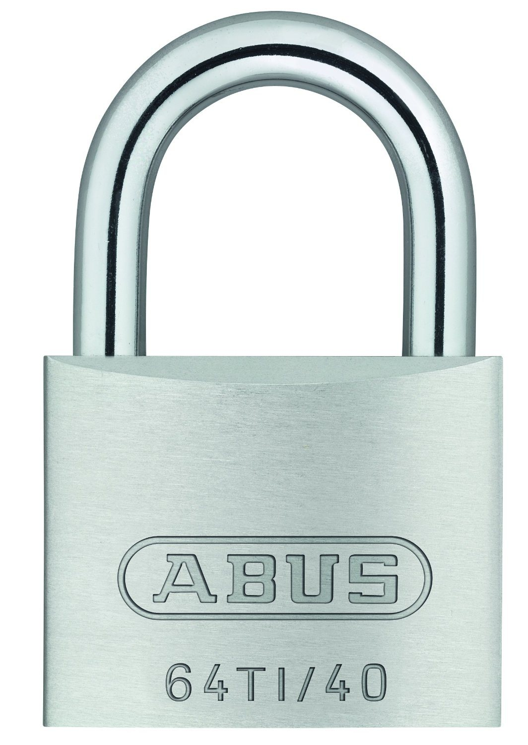 Abuse H17 54573 Outdoor Key Padlock Titalium