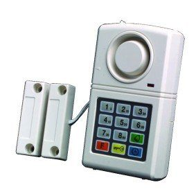 Home Security Alarm Kit Door Chime for House Garage Shed Caravan Indoor Digital Keypad System Siren Alert