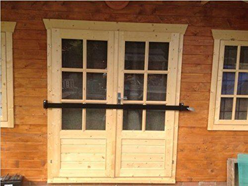 SECURITY DOOR BAR LOCK FOR GARDEN SHEDS