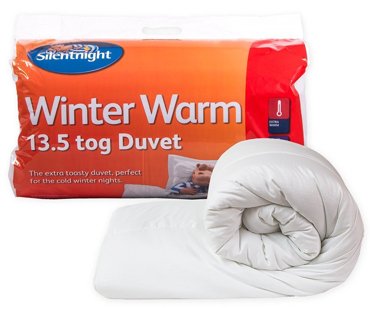 Silentnight Winter Warm 13.5 Tog Duvet, Double