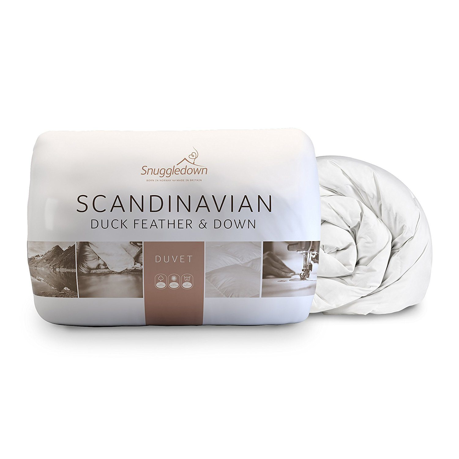 Snuggledown Scandinavian Duck Feather and Down Duvet