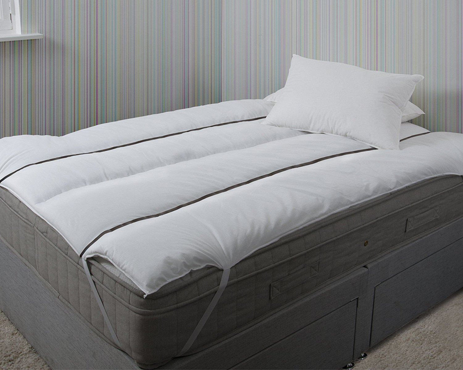 Bedding Direct UK - Luxury Magnetic Pain Relief Polycotton Mattress Reviver