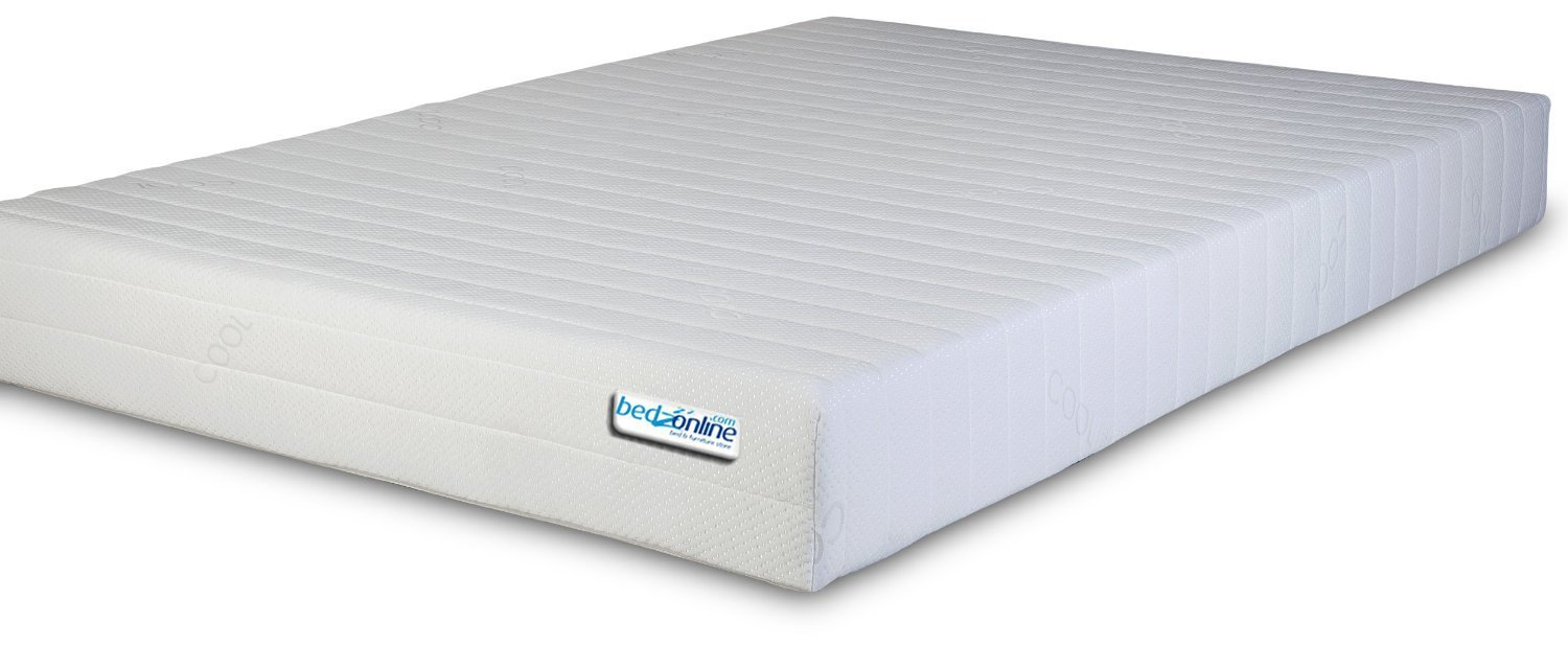 BEDZONLINE 4FT6 Double Memory Foam and Reflex Mattress full size