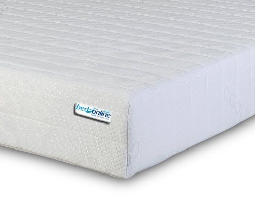 BEDZONLINE 4FT6 Double Memory Foam and Reflex Mattress