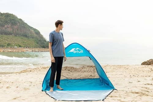 BFULL Outdoor Automatic Pop up Beach Tent Review