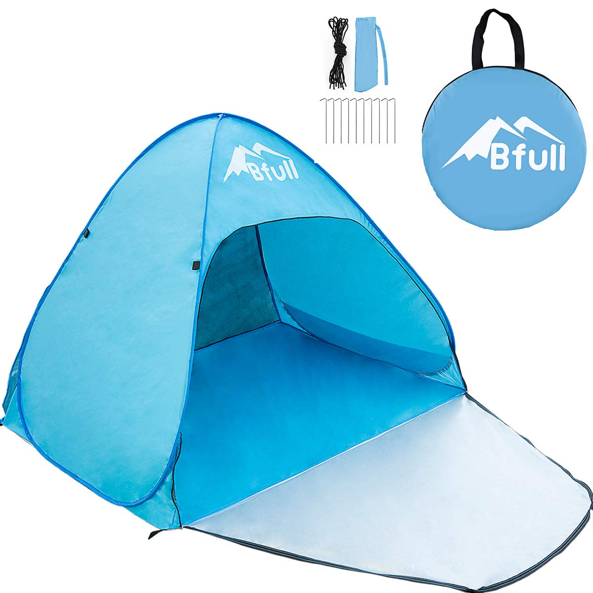 no 6 rated pop up tent