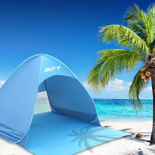 BIFY Pop-up Beach Tent Portable for1-3 Person