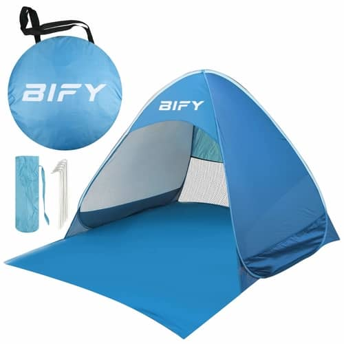 no 2 rated pop up tent
