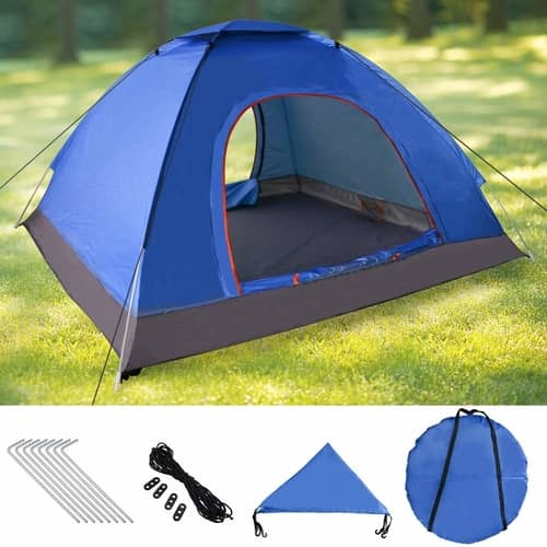 no 5 rated pop up tent