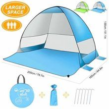 no 7 rated pop up tent