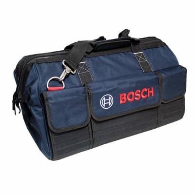 tool bag for an angle grinder