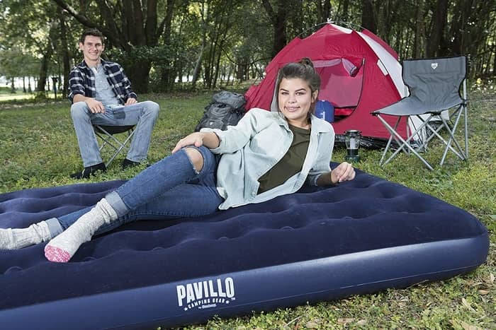 Pavillo Airbed Quick Inflation Outdoor Camping Air Mattress Review