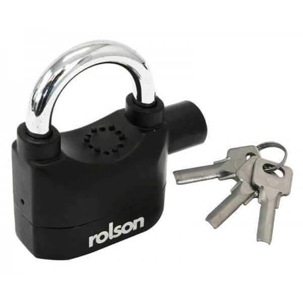 rolson padlock with an alarm